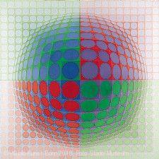 """Victor Vasarely. Im Labyrinth der Moderne"" Frankfurt am Main"