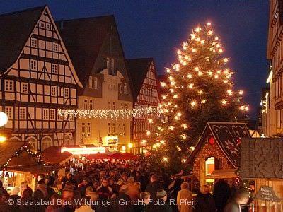 Weihnachtsmarkt für die ganze Familie Bad Wildungen