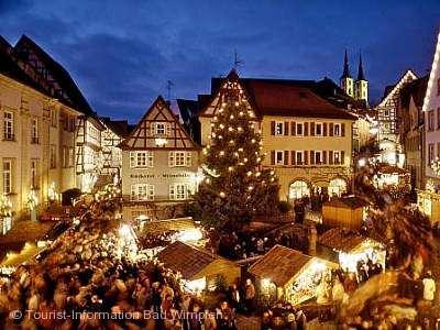 Altdeutscher Weihnachtsmarkt Bad Wimpfen am 07.12.2018 bis 09.12.2018
