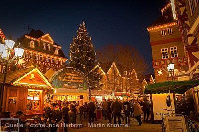 """""""Weihnachtsmarktplatz"""" Herborn"""