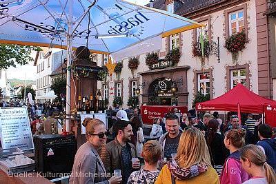 Weinbrunnenfest mit Kirchweih Michelstadt