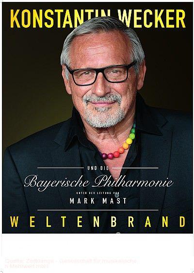 """""""Weltenbrand"""" - Konstantin Wecker & Bayerische Philharmonie Darmstadt"""