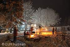 Silvester 2018 - Ungewöhnlicher Jahreswechsel in den hessischen Jugendherbergen Bad Hersfeld